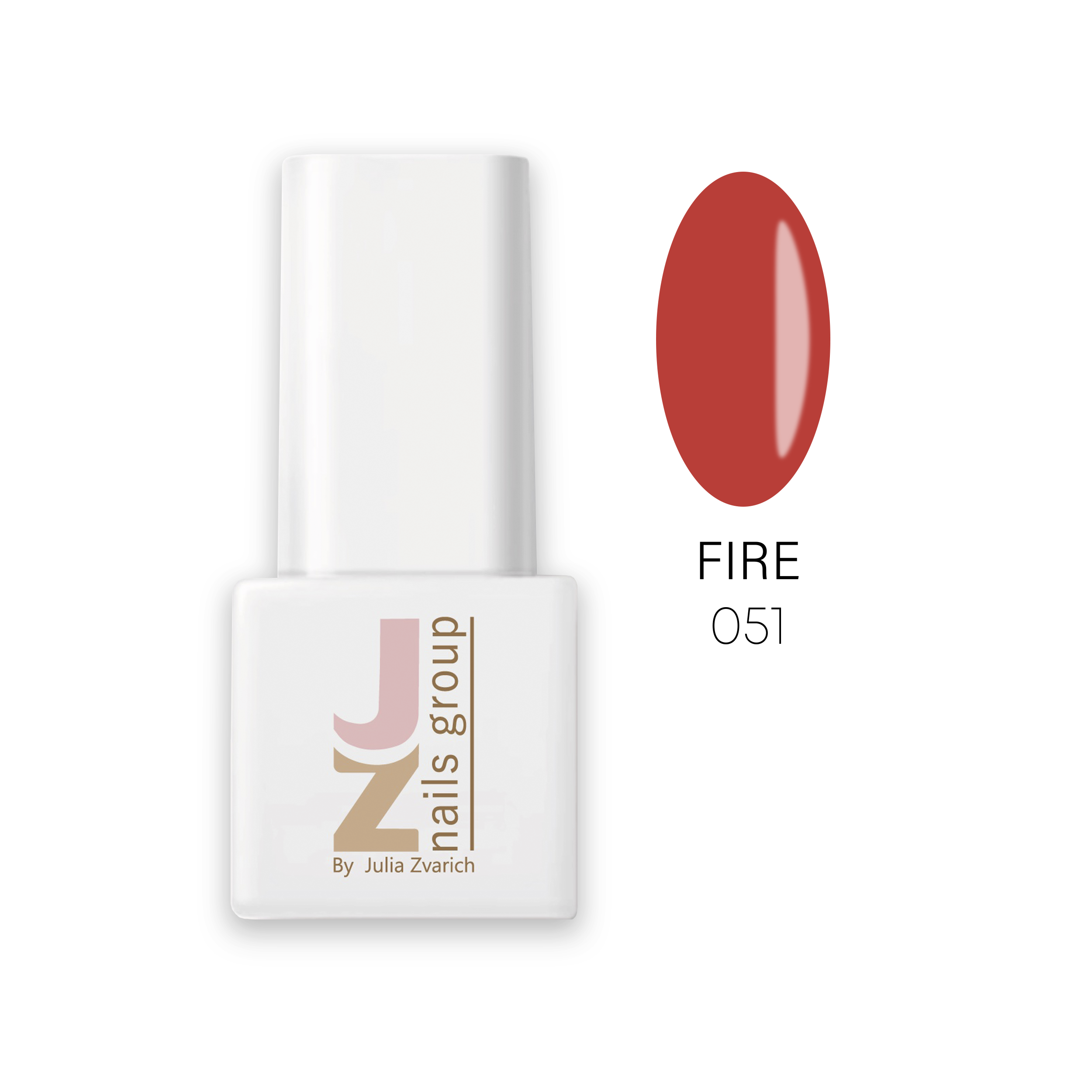 Цветной гель-лак JZ Nails Group — 051 Цветные гель-лаки